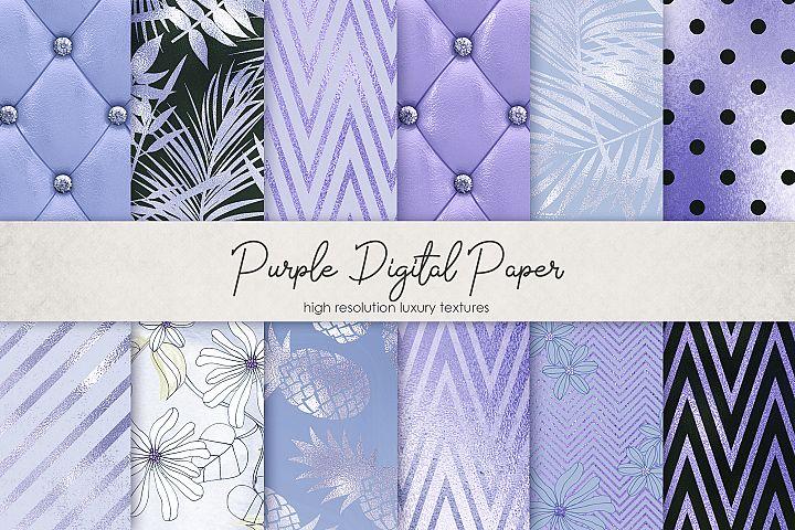 Purple Digital Paper