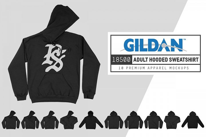 Gildan 18500 Hooded Sweatshirt