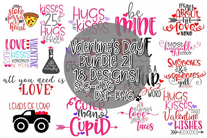 Valentines Day SVG Bundle for Crafters