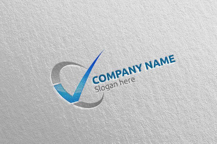 Letter V Logo Design 52