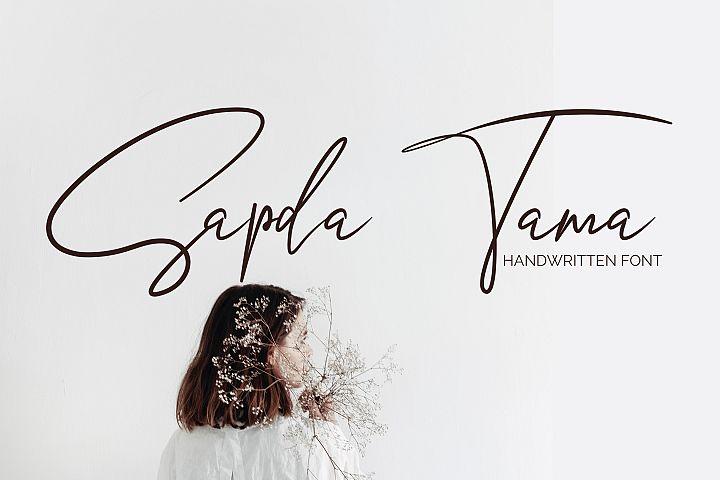 Sapda Tama - Script
