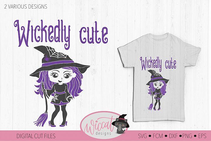 Witch svg, Halloween svg, Little witch svg,