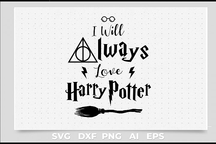 i will always love, quote designs harry potter inspiration