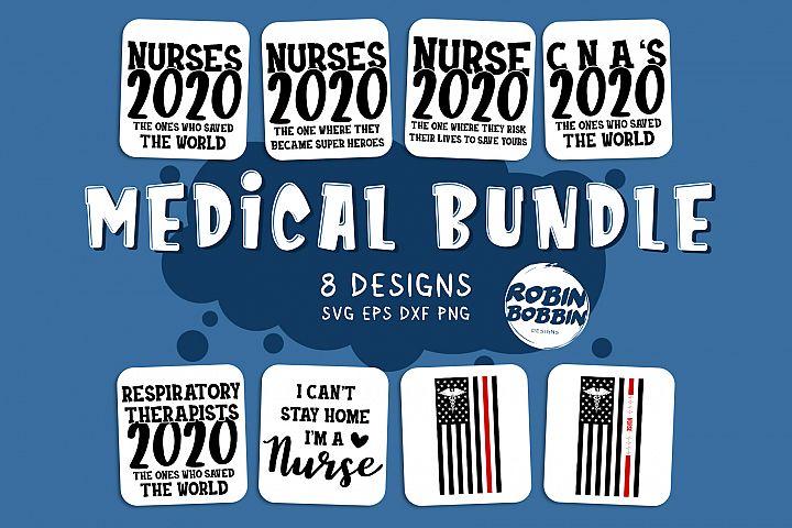 Nurse Bundle SVG - Nurse SVG - Medical Bundle SVG
