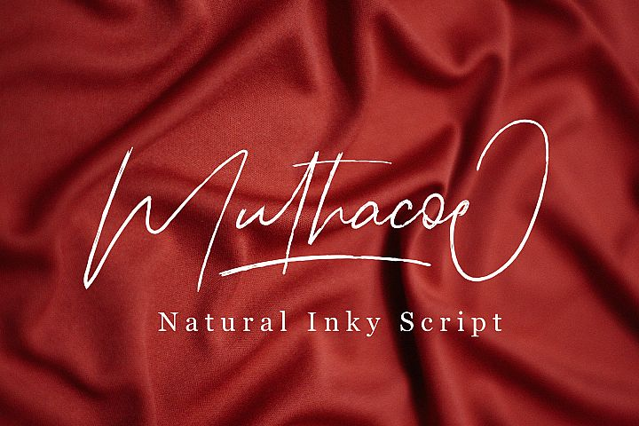 Muthacoe | Natural Inky Script
