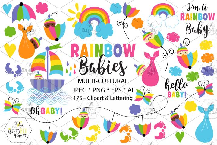 Rainbow Baby Graphics
