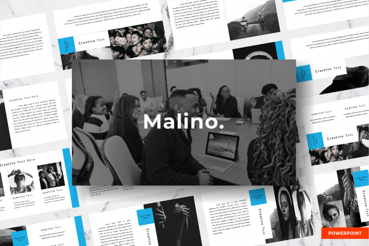 Malino - Powerpoint Template