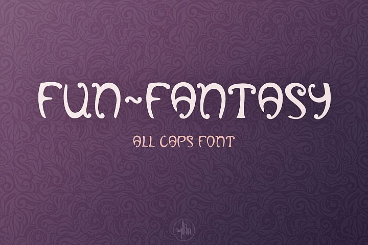 Fun-Fantasy - all caps display font