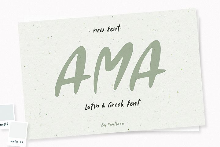 AMA Greek and Latin Font