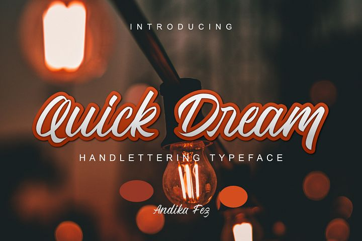 Quick Dream Font