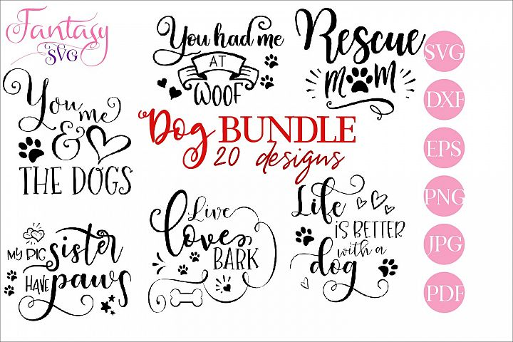 Dog BUNDLE - svg cut files