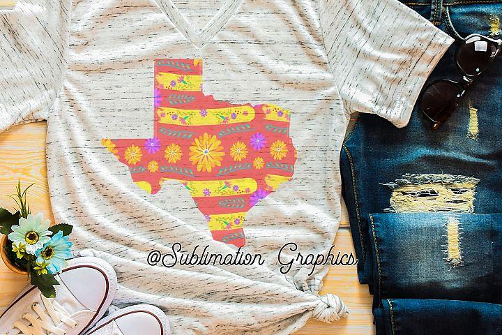 Texas Fiesta Sublimation Digital Download