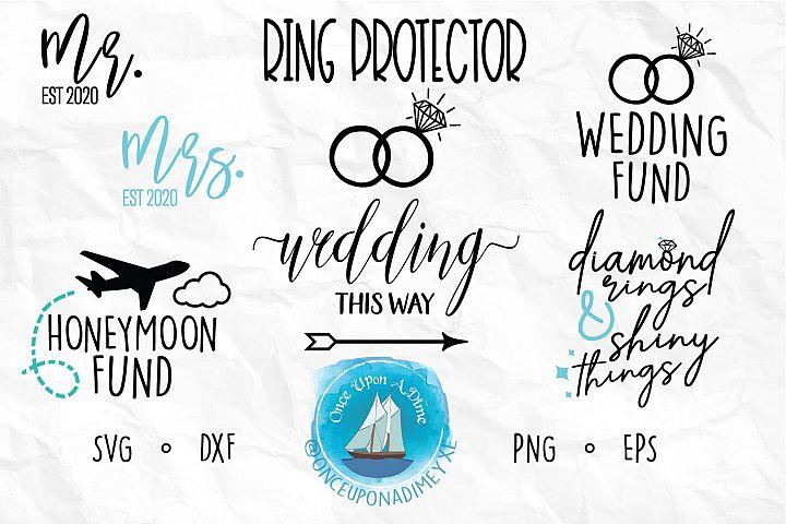 Wedding Bundle | Wedding |Wedding SVG Cut Files