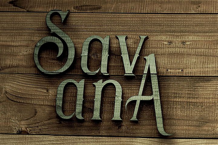 Savana - Display Font example image 5