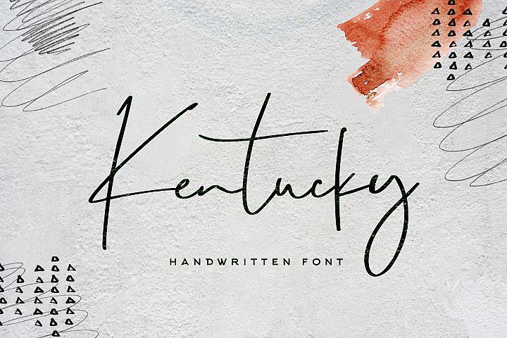Kentucky Font