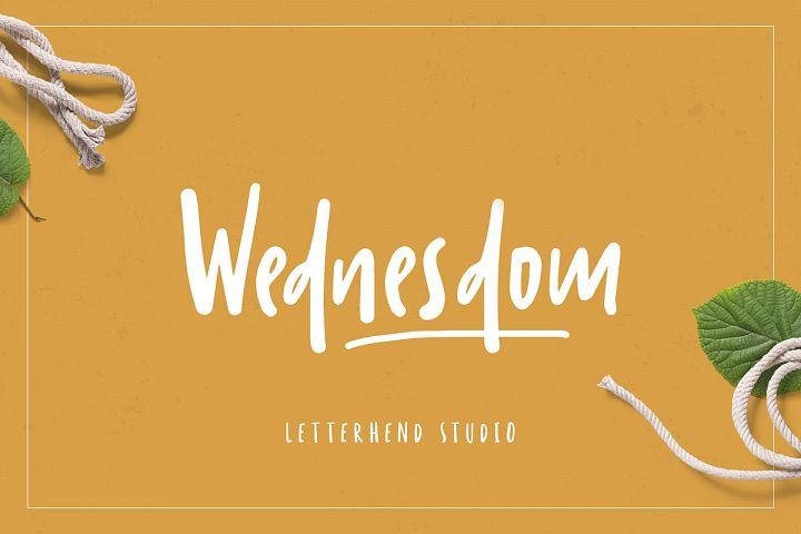 Wednesdom Playful Font