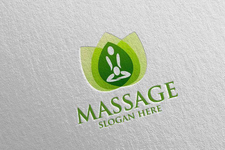 Massage Logo Design 14
