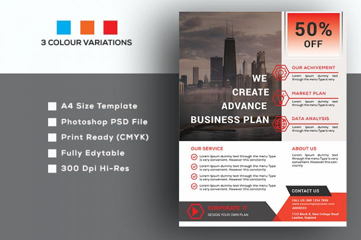 Corporate & Business Flyer