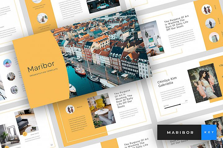 Maribor - Creative Keynote Template
