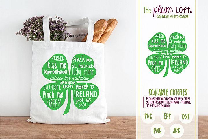 Kiss me, Pinch Me, St. Patricks Day - SVG Design