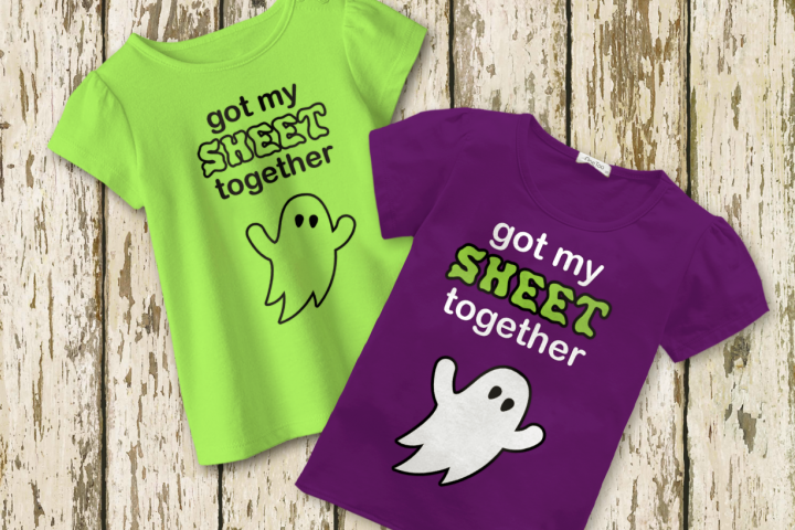Halloween Got My Sheet Together Ghost SVG File