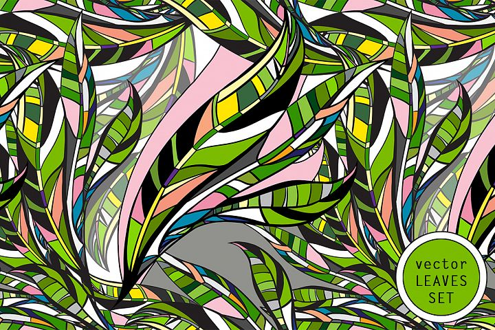 LEAVES vector collection.