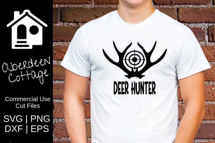 Deer Hunter 2 SVG| PNG | EPS | DXF