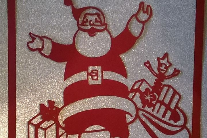 Santa with Toy Sack