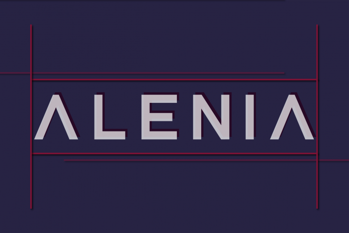 Alenia Display Font