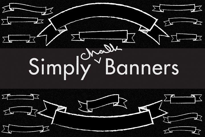 112 Chalkboard Banners