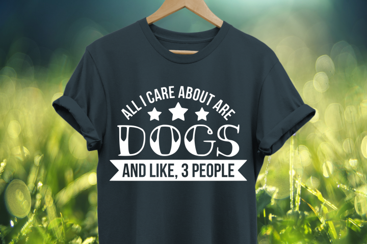 All I care about are dogs and like 3 people SVG