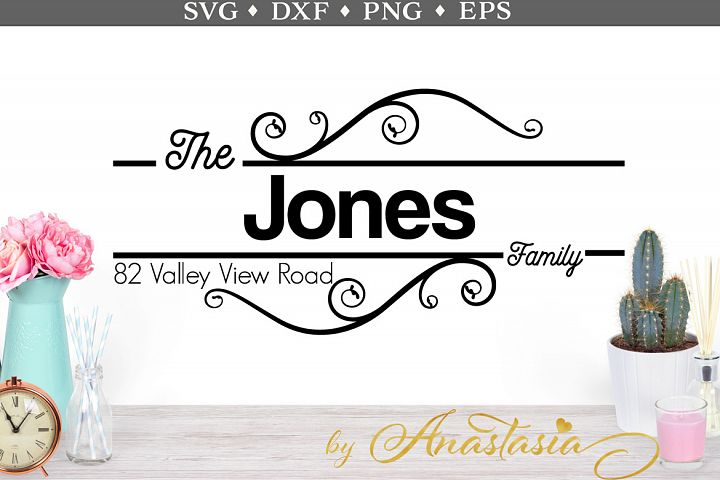 Mailbox Decal SVG cut file