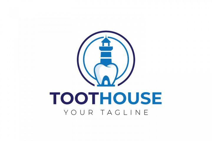 Dental, Tooth Logo Design