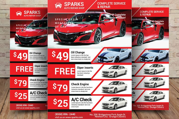 Car Business Flyer