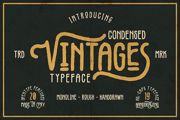 Vintages Typeface