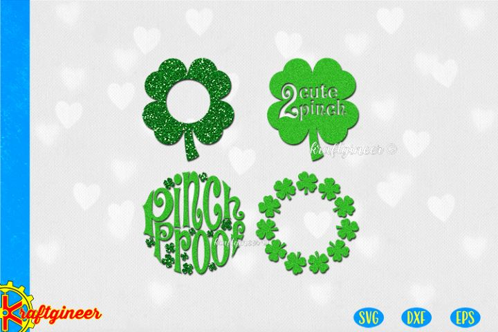 shamrock elements SVG | Love SVG