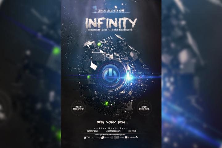 Infinity Flyer Template