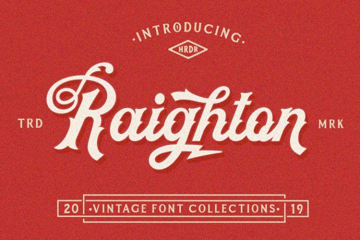 Raighton Font Collections!