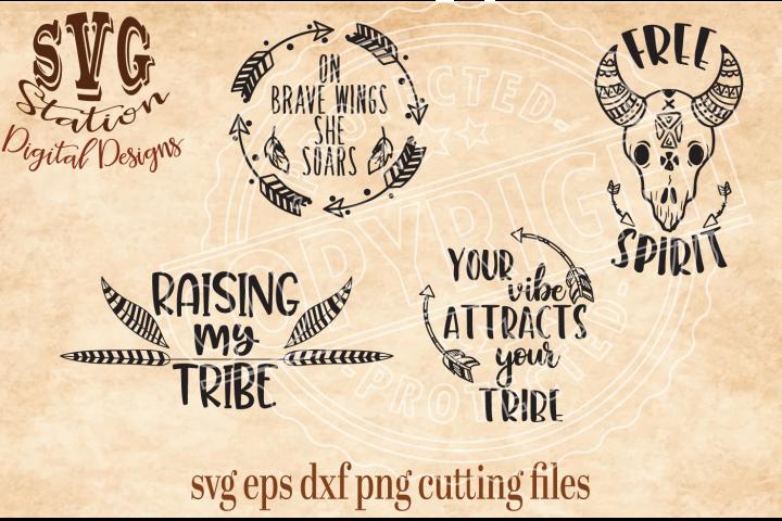 Boho Tribal Cut Files