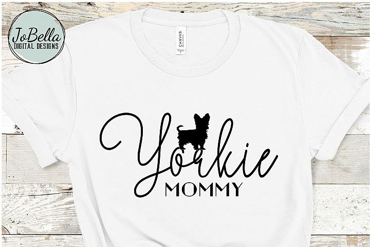 Yorkie SVG, Printable & Sublimation Design