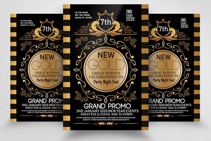 Grand Opening Party Night Flyer/Poster