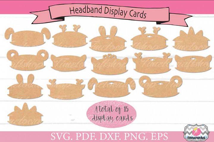 Animal Ears Headband Display Card Bundle