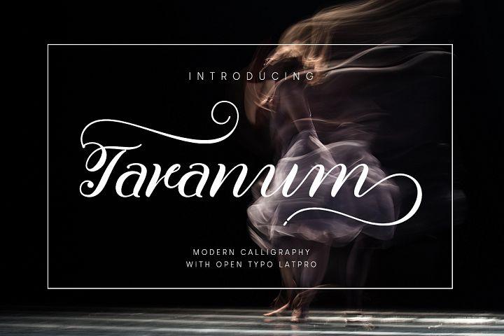 Taranum font