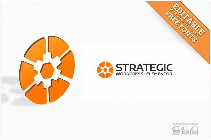Strategic Gear logo design & business cards & video intro