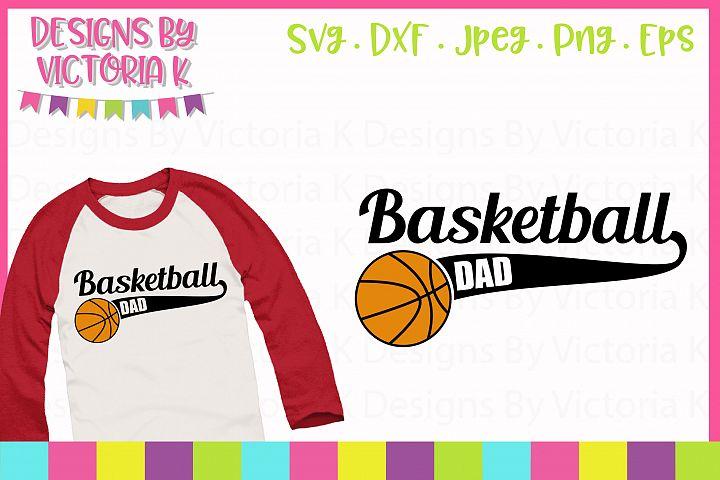Basketball dad, SVG Cut File