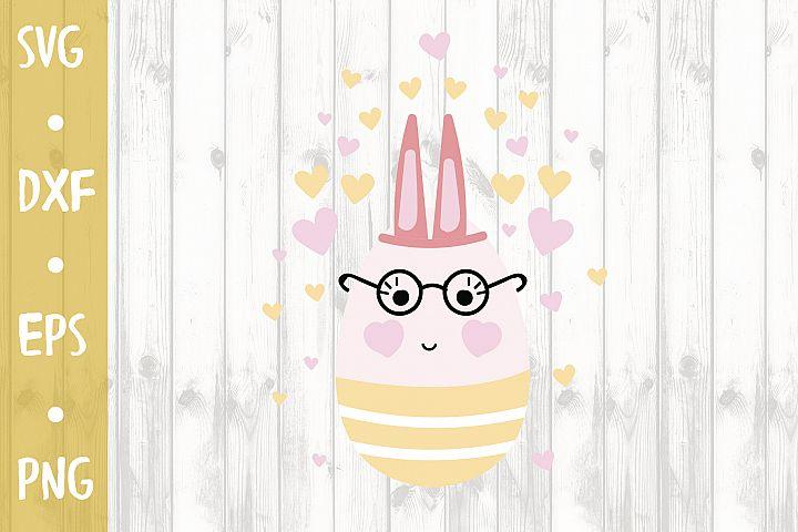 Funny Easter egg - SVG CUT FILE