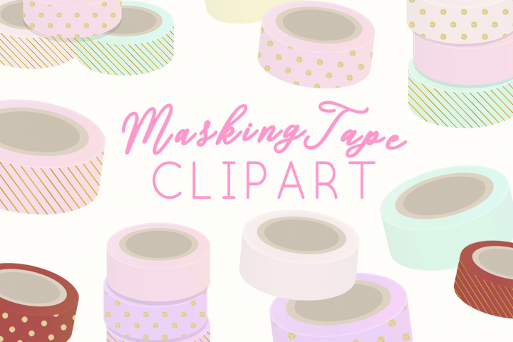 Masking TapeIllustration Clipart
