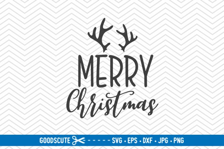 Merry Christmas - SVG DXF JPG PNG EP