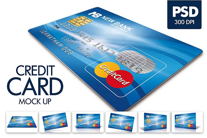 Credit Card Mock Up