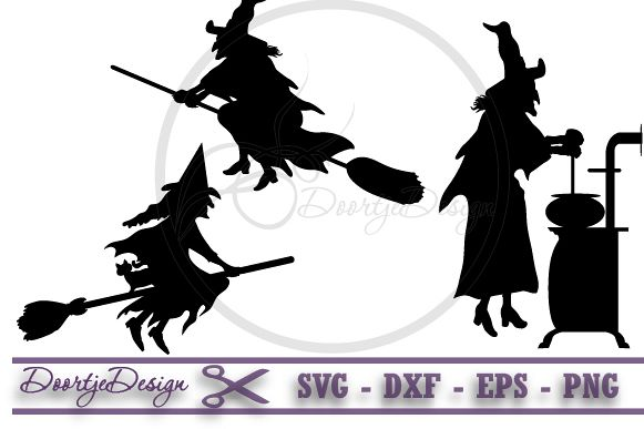 Witches Halloween SVG